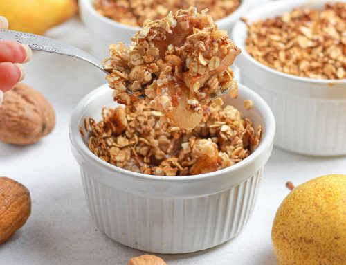 Pear Walnut Crumble
